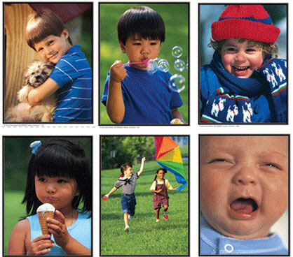 CARSON DELLOSA KE-845005 PHOTOGRAPHIC LEARNING CARDS VERBS:-ACTIONS