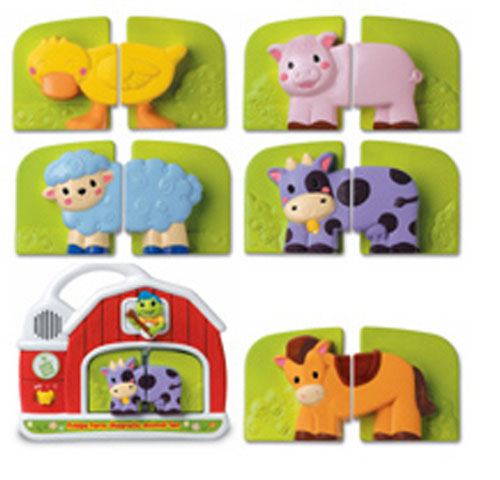 Fridges - LEAPFROG ENTERPRISES LFC10110 FRIDGE FARM MAGNETIC ANIMAL SET