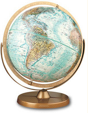 REPLOGLE GLOBES RE-33801 THE ATLANTIS GLOBE EDRE2923