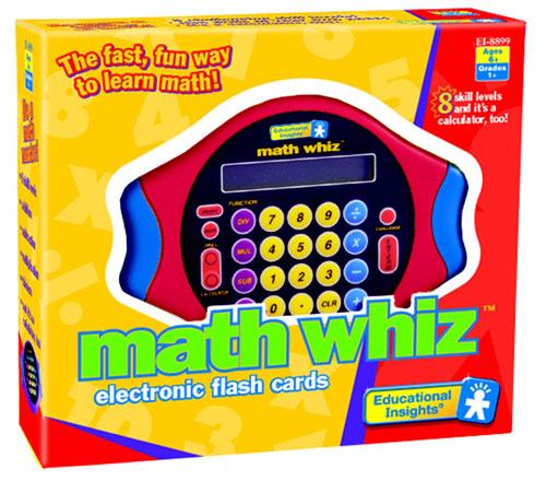 Image of EDUCATIONAL INSIGHTS Math Whiz Electronic Game EI-8899
