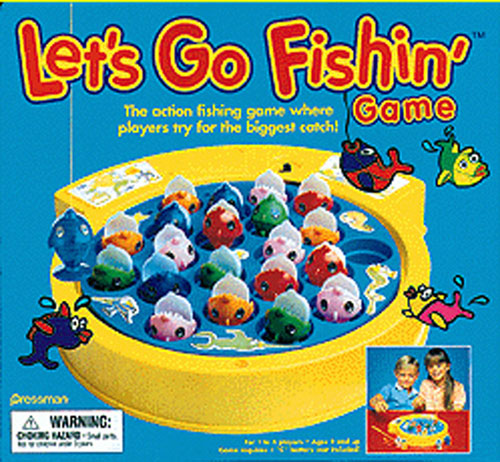 PRESSMAN TOYS PRE005506 LETS GO FISHIN EDRE3172