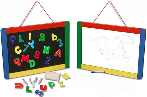 LIGHTS CAMERA INTERACTION LCI145 MAGNETIC CHALK/DRY ERASE BOARD