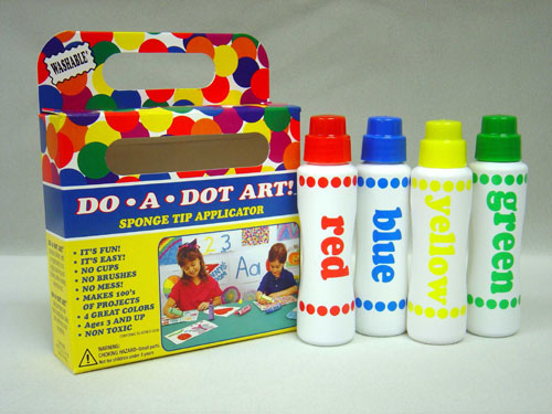 DO-A-DOT ART DAD201 DO-A-DOT MARKERS 4 ASST EDRE554