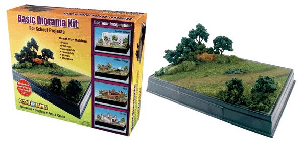 Scene A Rama SP-4110 Scene-A-Rama Basic Diorama Kit