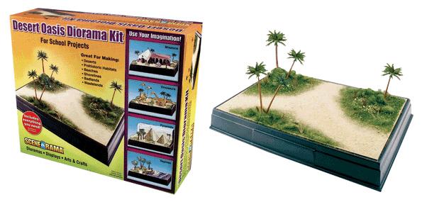 Scene A Rama SP-4112 Scene-A-Rama Desert Oasis Diorama Kit