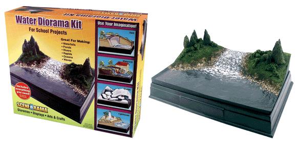 Scene A Rama SP-4113 Scene-A-Rama Water Diorama Kit