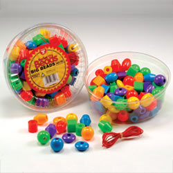 Hygloss Products  Inc. HYG68100 Big Beads 16 oz.