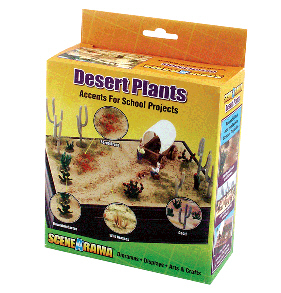 Scene A Rama SP-4124 Scene-A-Rama Desert Plants Dioramaadd-On Kit