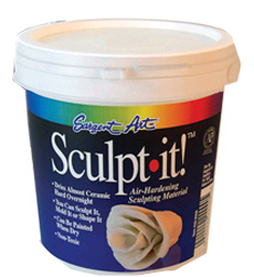 Sargent Art  Inc. SAR222000 Sculpt It White 2 Lbs