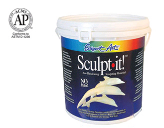 Sargent Art  Inc. SAR222003 Sculpt It White 10 Lbs