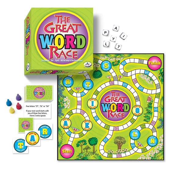 Talicor  Inc TAL803 The Great Word Race Game