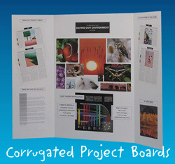 Flipside FLP3004509 Project Boards Assorted-1 Each of 9 Colors Carton of 9