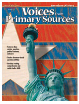 Harcourt School Supply SV-36385 Voices From Primary Sources American History