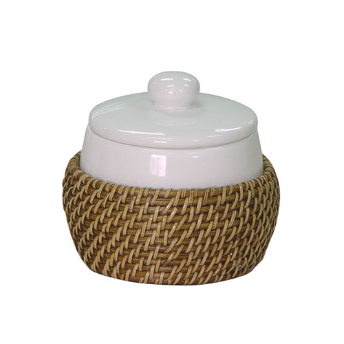 Elegant Home Fashions 70109 Hana Cotton Jar