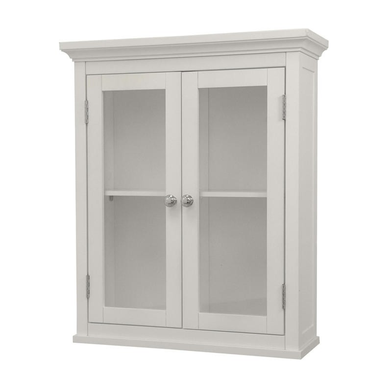 Elegant Home Fashions 7046 Madison Avenue Wall Cabinet with 2 DOORS