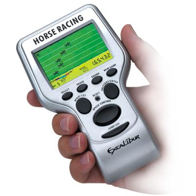 Racing Electronics - Excalibur Electronics 416 LCD Horse Racing