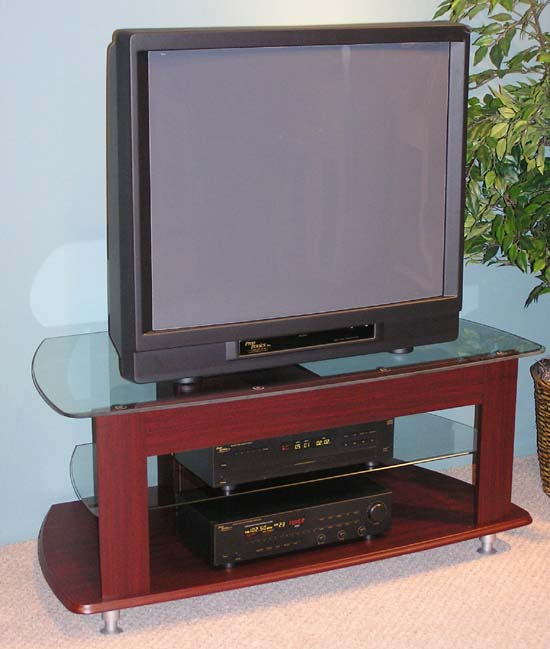4D Concepts 64603 TV Entertainment Stand - Cherry
