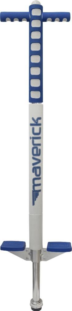 Flybar 2030 Foam Maverick Pogo Stick in Blue and White