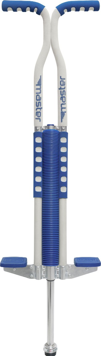 Flybar 2040 Foam Master Pogo Stick in Blue and White