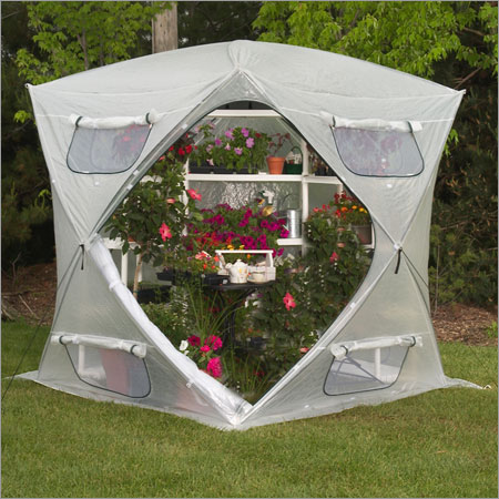 Flower House FHBH600 BloomHouse Greenhouse Greenhouse, Hoop House, Grow House, High Tunnel, Hothouse, Plant House, Grow Tunnel, Garden Supplies