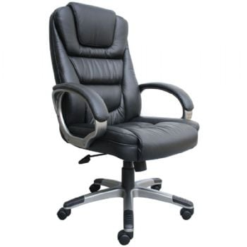 Boss B8601 Leather High Back Executive Chair
