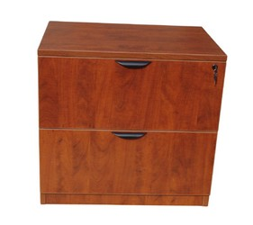 Boss N112-C  2 Drawer Lateral File  in Cherry