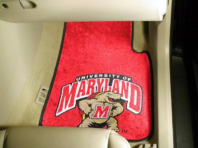 FanMats University of Maryland Car Mats F0005454