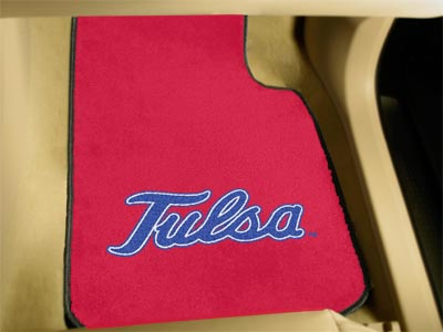 FanMats University of Tulsa Car Mats F0005487