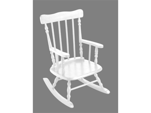Giftmark 1410W Child's Spindle Rocking Chair White