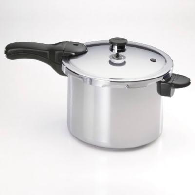 Presto 01264     ALU 6 Quart Aluminium Pressure Cooker