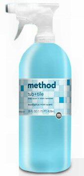 METHOD 00008-3 EUC TUB/TILE SPRAY CLNR Case of 8