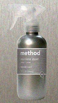 METHOD 00084-7 12 oz STAINLESS CLNR Case of 6