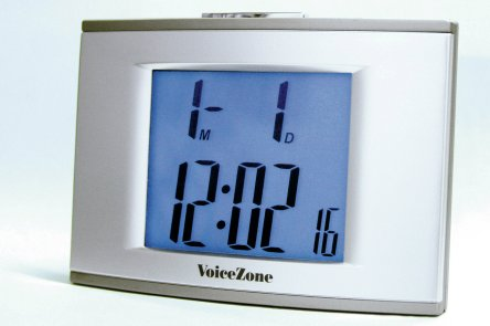 Hydas 8310 Talking Clock with Loud Clear Voice and LED Light HYD010