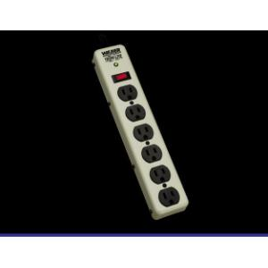 Tripp Lite 6 Outlets 120V Surge Suppressor Receptacles: 6 x NEMA 5-15R 450J PM6SN1