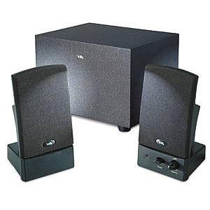 Cyber Acoustics CA-3001 Amplified Speaker System - 2.1 Amplified Speaker System - Black