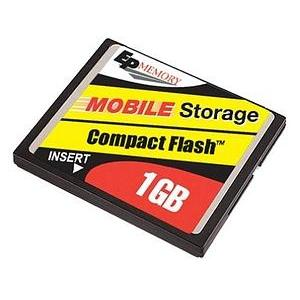 Electronics and Appliances - Memory Upgrades 1GB CompactFlash Card
