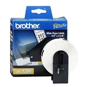 Brother Multi-Purpose Labels 0.67 Inch x 2.125 Inch 400 Label Multipurpose Label DK1204