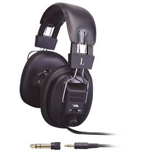Cyber Acoustics Pro Series ACM-500RB Headphone Cable Stereo 1 x 3.5 mm Stereo Plug Over-the-head