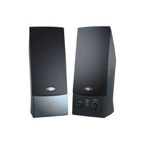 Cyber Acoustics CA-2014 Multimedia Speaker System 2.0 Multimedia Speaker System 2W per Speaker  4W Black CA-2014WB