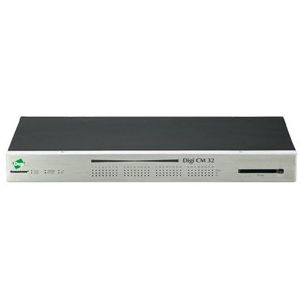 Digi CM 16-Port Console Server 16 x RJ-45 Serial Management  1 x RJ-45 10-100Base-TX   1 x RJ-45 Console 10Mbps  100Mbps Console Server 70001910