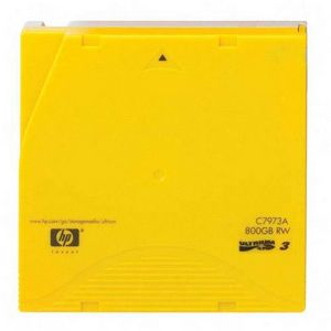 HP LTO Ultrium 3 Tape Cartridge Data Cartridge LTO Ultrium LTO-3 400 GB Native-800 GB Compressed 2230.97 ft C7973A