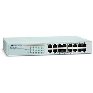 Allied Telesyn AT-FS716L-10 Unmanaged Fast Ethernet Switch 16 x 10-100Base-TX LAN Ethernet Switch