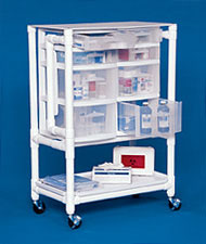 Innovative Products Unlimited NSC24 NURSING SUPPLY CART