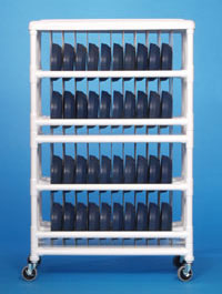 Innovative Products Unlimited DC96 DOME CART - HOLDS 96 DOME LIDS