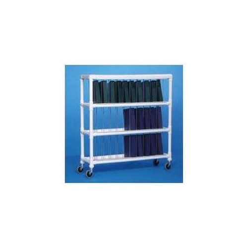 Innovative Products Unlimited NCR30 S NOTEBOOK CHART RACK - HOLDS 30 RING BINDERS