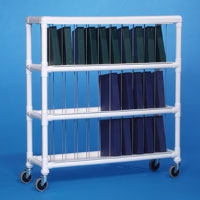 Innovative Products Unlimited NCR30 L NOTEBOOK CHART RACK - HOLDS 30 RING BINDERS