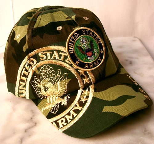 Military Headwear - Military Adjustable Cap Army