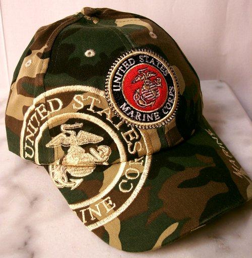 Military Headwear - Military Adjustable Cap Marines