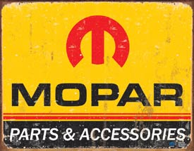 IWDSC 034-1315 Tin Sign Mopar Logo 64 - 71