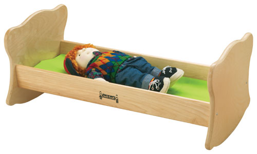 "Jonti-Craft 0214JC 14-1/2"" W x 27"" L Doll Cradle"